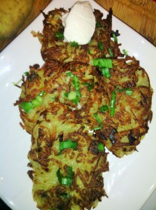 POTATO PANCAKES (LATKES)...GREAT COMFORT FOOD