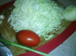 SHREDDED CABBAGE (RAW) FOR STIR-FRYING
