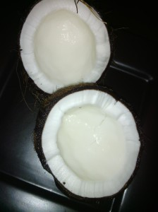 COCONUT FLESH IN HUSK