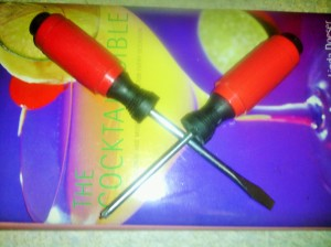FLAT HEAD AND SLOTTED SCREWDRIVERS