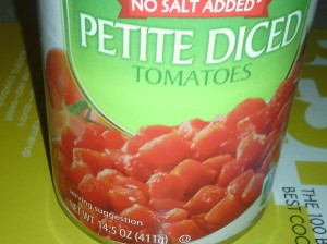 DICED TOMATOES FOR SAUCE