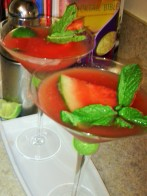 WATERMELON VODKA MARTINI
