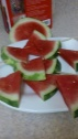 TRIANGULAR CUT WATERMELON