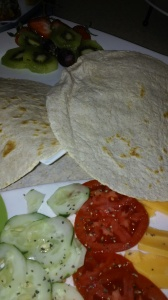SOME OF THE MAIN INGREDIENTS FOR TORTILLA WRAPS
