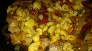 JAMAICAN'S NATIONAL DISH (ACKEE AND CODFISH)