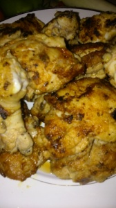 SEARED CHICKEN FOR APPLE CIDER FLAVORED SAUCE