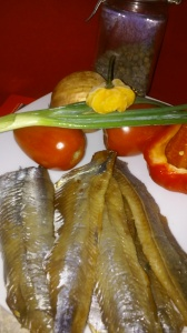 MAIN INGREDIENTS FOR SAUTEED PICKLED MACKEREL