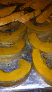 PUMPKIN AND SWEET POTATO FOR OVEN