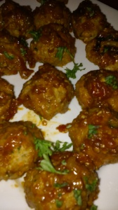 TURKEY BALLS WITH A HINT OF CHINESE FIVE SPICE