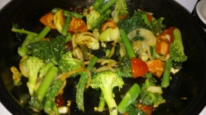 SAUTEED ASSORTED VEGETABLES
