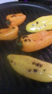 GRILLED MINI SWEET PEPPERS