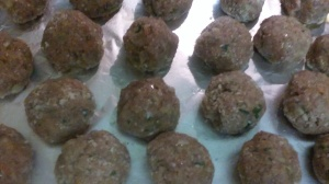 TURKEY BALLS FOR BAKING