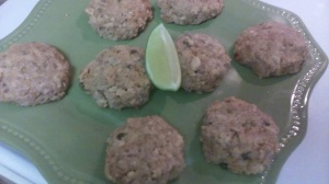 SALMON PATTIES FOR PAN FRYING