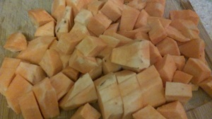 SWEET POTATOES FOR ROASTING