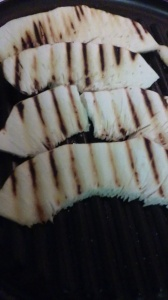 GRILLED BREADFRUIT SLICES